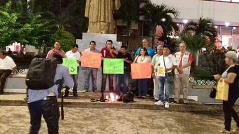 También se Manifestaron en Tapachula