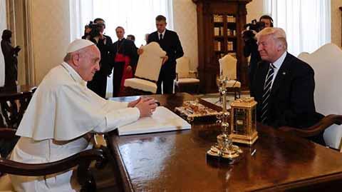 El Papa Francisco Desea que Trump sea Instrumento de paz