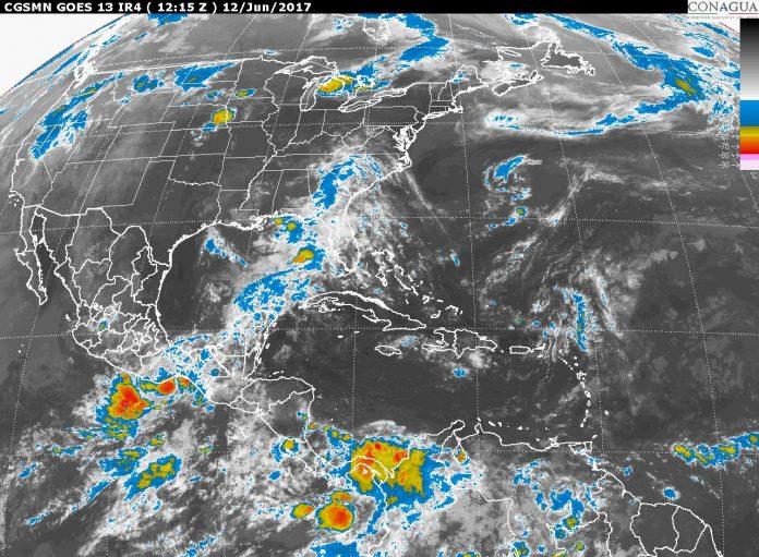 Zona de Baja Presión en el Pacífico Podría Convertirse en Ciclón en 48 Horas