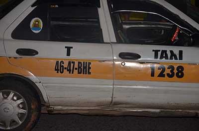Pasajero Asesina de un Balazo a Taxista