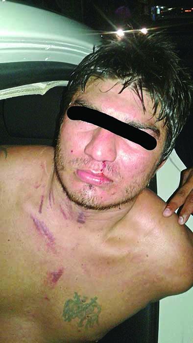 Detienen a un Agresivo Hondureño