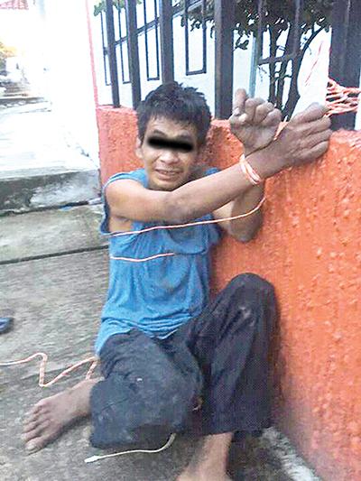 Detienen a Ladrón en la Azotea de una Casa