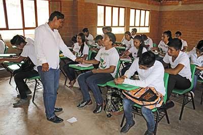 CECyTE Chiapas da Promoción al Programa de Becas de la SEMS