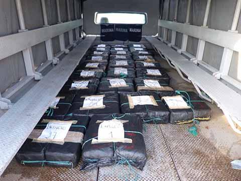 Armada de México Asegura Casi 600 Kilogramos más de Presunta Cocaína