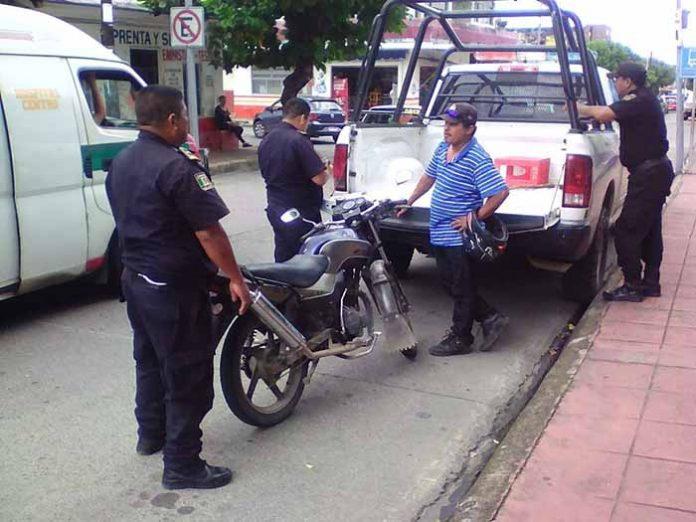 Continúa Combate Contra Motociclistas Necios