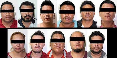 Detienen a 11 Personas Implicadas en Bloqueos en la Capital del Estado