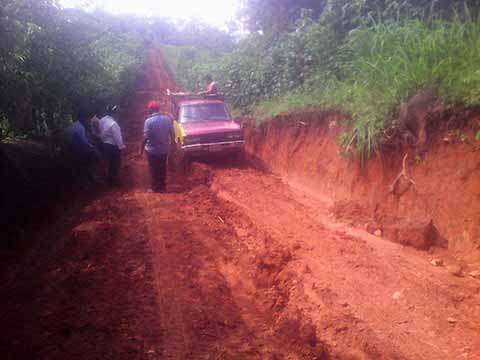 Obras Camineras Saca-Cosechas en Mal Estado