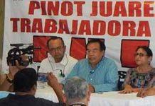 Rechazan Reelección de Victor Manuel Pinot en el SUICOBACH