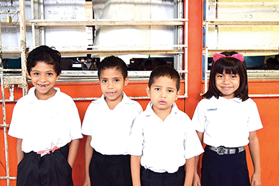Justin Alfaro, Ricardo Gálvez, Jeshua Roblero, Consuelo Pérez.