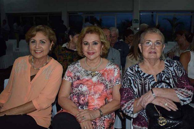 Deysi Trujillo, Blanca Carbot, Frieda Calcáneo.
