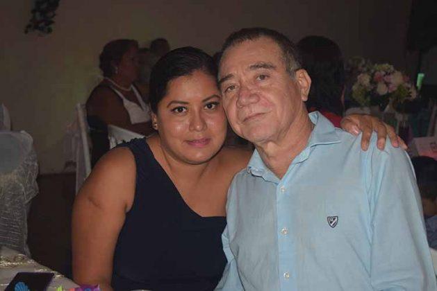 Selene Torres, Víctor Vázquez.