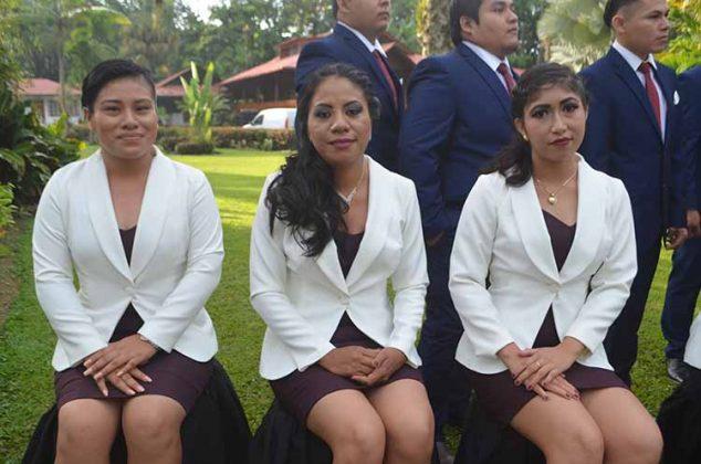 Selene López, Andrea Ortiz, Amairani Aguilar.