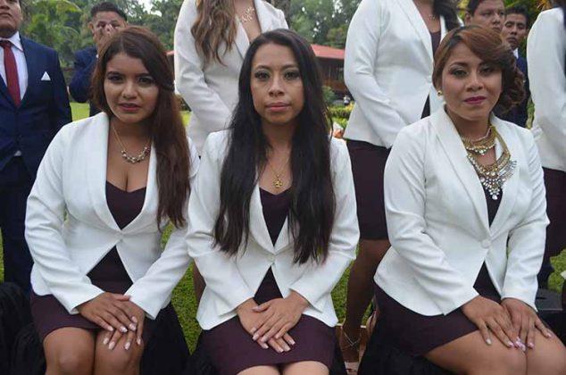 Esmeralda Cardona, Nayeli Escobar, Aimé Alejandra Aragón