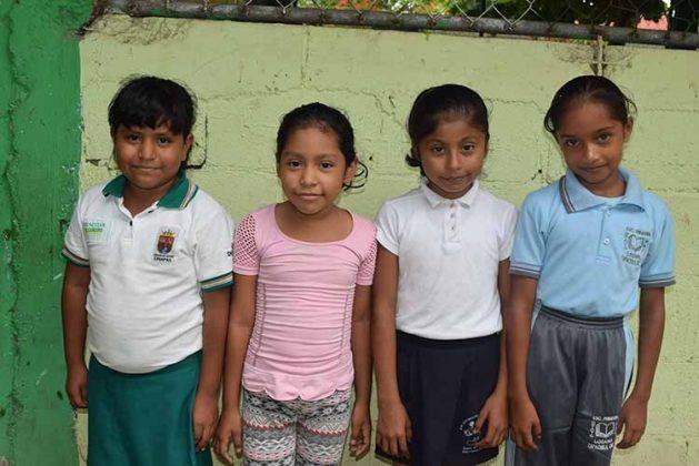 Jennifer Gutiérrez, Alison Toledo, Brenda Verdugo, Julia Alegría.