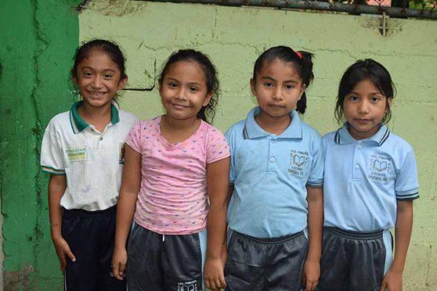 María, Belinda Reynosa, Laura Alvarado, Aiilin Ruiz.