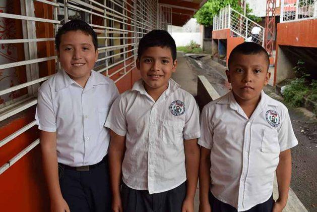 Edi Antonio Cruz, Brian Roblero, Juan Manuel Pérez.