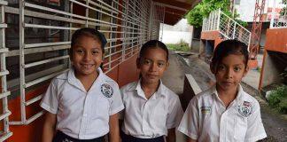 Adriana Pérez, Yamileth Huinaque, Linda Colmenares.