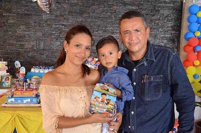 Valentina Montoya, Mario Ernesto, Mario Ruiz.