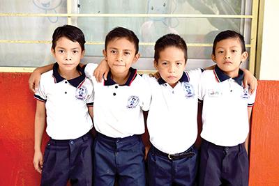 Rubilio González, Jesús Aguilar, Melvin Velázquez, Julio González.