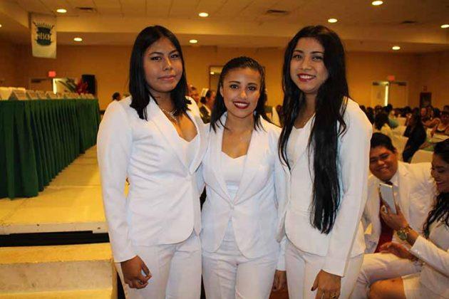 Jazmín Figueroa, Itzayana Rodas, Paula Rodríguez.