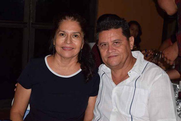 Andrés López, Margarita Jiménez.