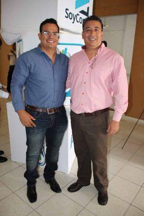 Luis Carmona, Rubén Cruz.
