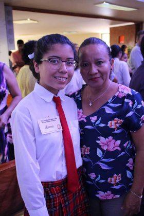 Maryori Rubio, Patricia Ortiz.