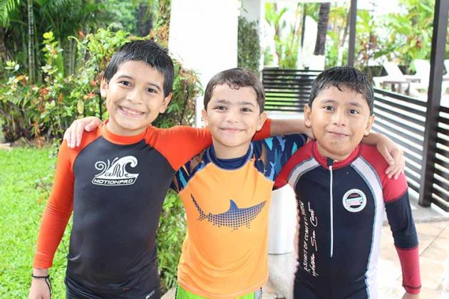 Erick Martínez, Erick Vaillart, Gean Mazariegos.