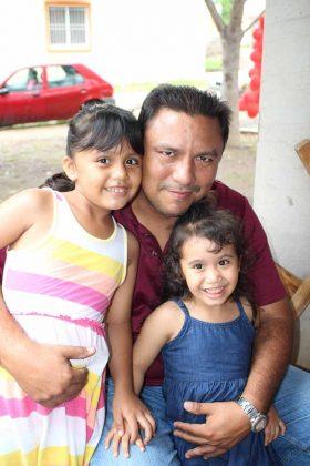 Beatriz, Rodolfo, Xiomara Girón.