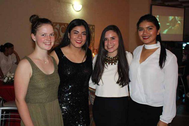 Ada, Hanna Luttmann, Alexandra Sánchez, Andrea Coutiño.