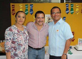 María Elena Ruiz, Ian Chang, Valentín Villar.