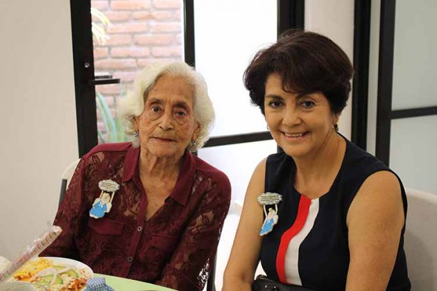 Lalita Sánchez, Silvia Revilla.