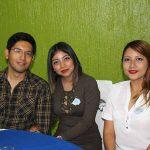 Daniel Osada, Celia Méndez, Jessica Girón.