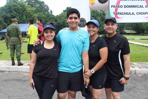 Gabriela, Antonio, Alejandra, Alonso Culebro.