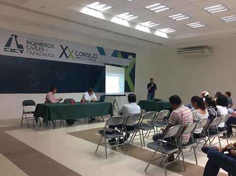 Ingenieros Civiles de Tapachula Participan en el Fondo Nacional Emprendedor