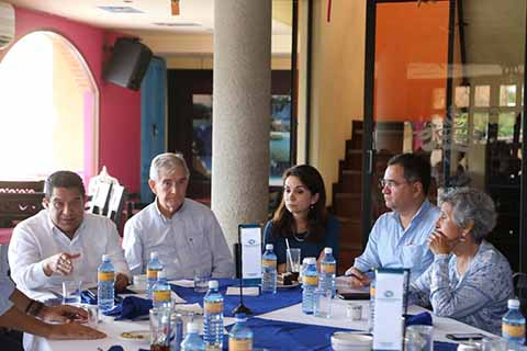 Gobierno del Estado y Nacional Financiera Trabajan en Beneficio de Empresas Chiapanecas
