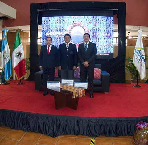 El diputado federal Enrique Zamora Morlet, al reunirse con el director del Instituto Guatemalteco de Turismo Jorge Mario Chajón y del vicepresidente de COPARMEX Costa-Chiapas Jorge Alfredo Gálvez Sánchez, destacó el fortalecimiento de la economía en la franja fronteriza.