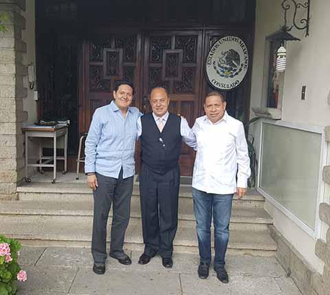 Realiza el Diputado Federal Enrique Zamora Morlet Promoción de la TVR en Guatemala