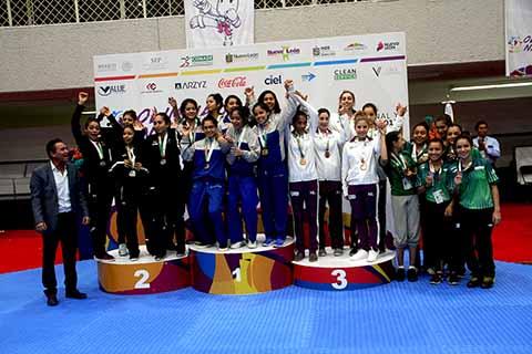 Chiapas Cierra su Participación en la Olimpiada y Nacional Juvenil de Taekwondo