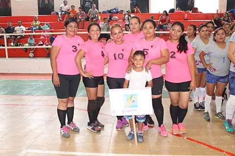 Se Inaugura Torneo de Voleibol
