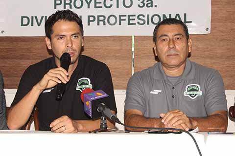 Cafetaleros de Tapachula Tendrá Filial en 3a. División Profesional