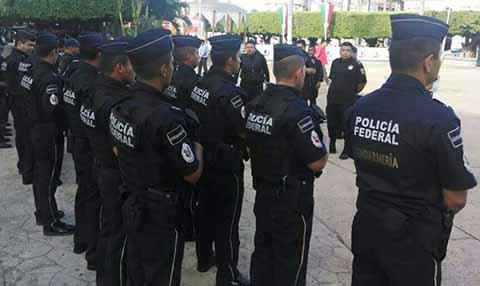 SAT Capacita a la Policía Federal