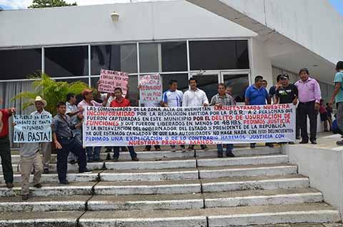 Irritación Ciudadana en Huehuetán por la Liberación de dos Asaltantes