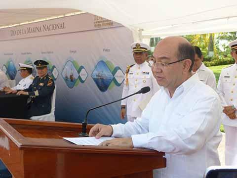 Gobierno de Chiapas reconoce valor y compromiso de la Marina Mexicana