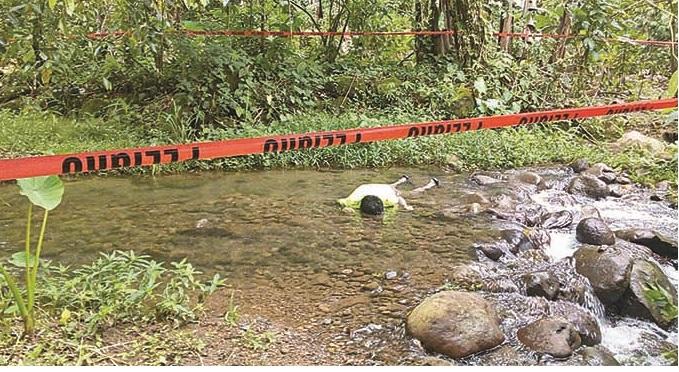 Localizan a Campesino Ahogado en el Río Mixcum