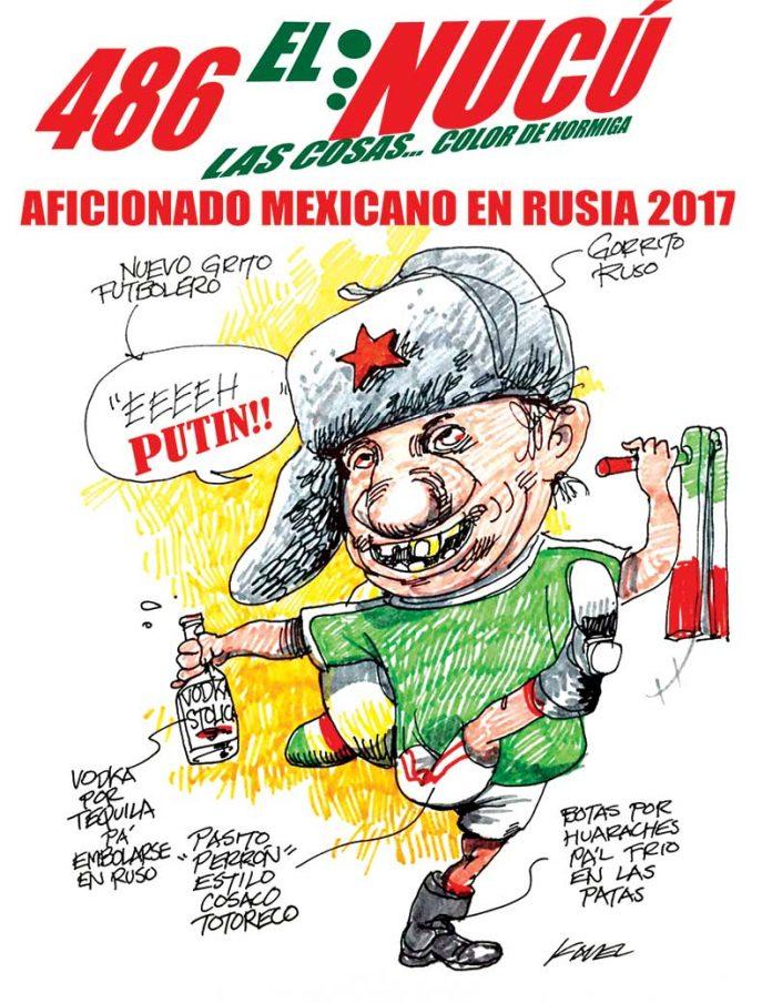 AFICIONADO MEXICANO EN RUSIA 2017