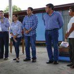El gobernador del Estado Manuel Velasco Coello, realiza la supervisión personal de las comunidades afectadas por el sismo y las lluvias, donde también encabezó la entrega de ayuda humanitaria a las familias damnificadas.