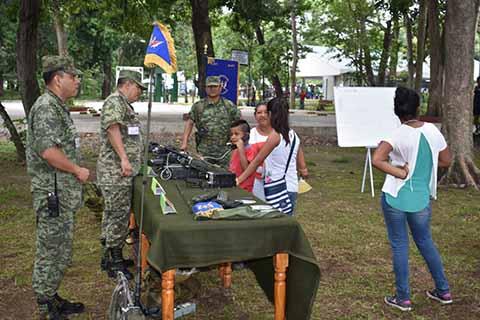 Realizan Paseo Dominical en la 36ª Zona Militar