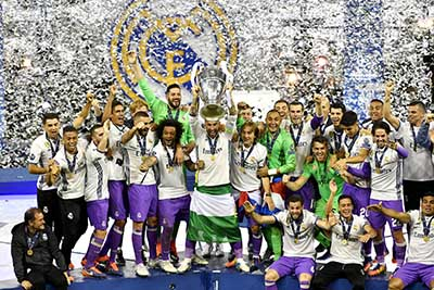 Real Madrid Consigue su 12ª Champions League