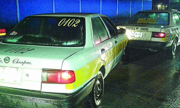Golpean dos Veces el Mismo Taxi